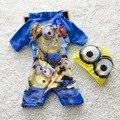 Bebé del Verano Traje de Baño Uno Junta Las Piezas Set Con Sombrero Playa del traje de Baño Floral Niño Niños traje de Baño Lindo Guardias Punta S2059