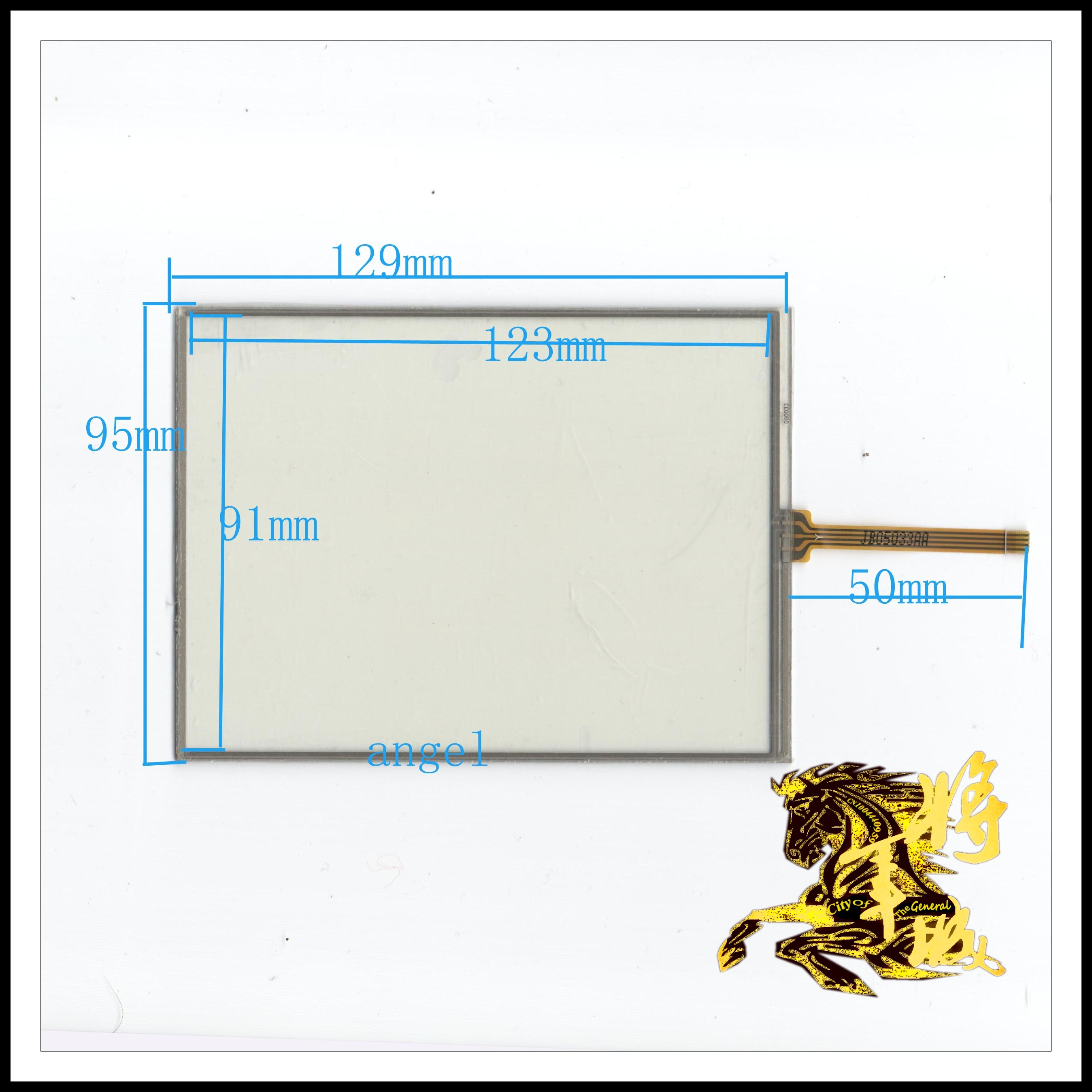 GENCTY For 6 inch resistive touch screen 129 * 95 W-Y