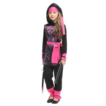 Rycerz dziewczyny anime naruto Cosplay dzieci dzieci Halloween wojownik Ninja kostium karnawał Purim na ubrania imprezowe dziewczyna hunter tanie i dobre opinie Kostiumy Spodnie HUIHONSHE spandex Zestawy G-0302 Wakacje