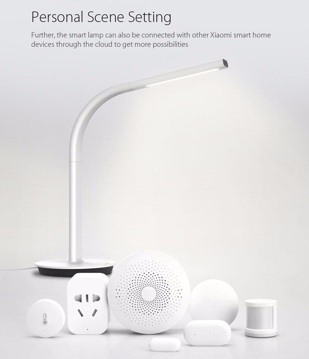 Original Xiaomi Mijia Led lampe 2 Smart LED Licht DeskLamp 4000 Karat 10 Watt Dual licht Tischlampe unterstützung IOS Android APP Control - 5