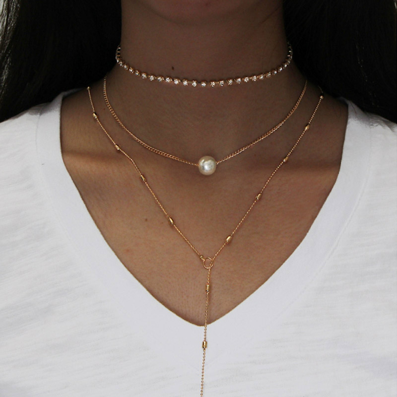Premium Pearls Necklace Set 9