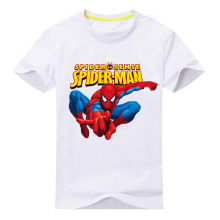 2018 New boys T Shirt for Toddler Children Marvel Spider Cartoon Print Short Sleeve Kids Clothes for 2-10 Years Boys Clothes