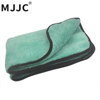 MJJC 50 70CM 1200GSM Ultra Absorbancy Car Wash Cloth Pad Super Deep Pile Premium Microfiber Drying