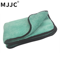 MJJC 50 70CM 1200GSM Ultra Absorbancy Car Wash Cloth Pad Super Deep Pile Premium Microfiber Drying