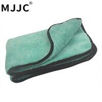 MJJC 50*70 CM 1200GSM Ultra Absorbancy Auto Waschen Tuch Pad Super Tiefe Pile Premium Mikrofaser Trockentuch Auto wachsen Polieren