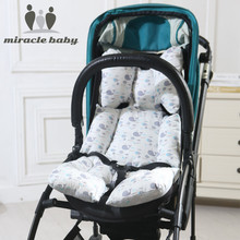 Baby Stroller Seat Cushion Thick Warm Car Seat Pad Cotton Sleeping Mattresses Pillow For Carriage Infant Pram Accessory