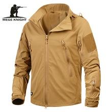 Mege брендовая одежда новая осенняя мужская куртка пальто Военная одежда тактическая верхняя одежда армии США дышащий нейлоновый светильник ветровка