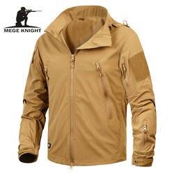 Бренд Mege Костюмы Новая осень Для мужчин куртка пальто военного Костюмы Тактический верхняя одежда армии США дышащий нейлоновая лампа