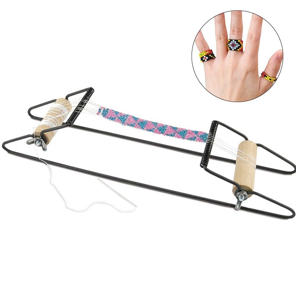 Wood Weaving Beading Loom Set for Jewelry Bracelet