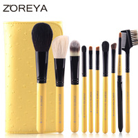 Customize Makeup Brush Goods In Stock Best Sellers Fund 10 Branch Wool Colour Makeup Set Brush