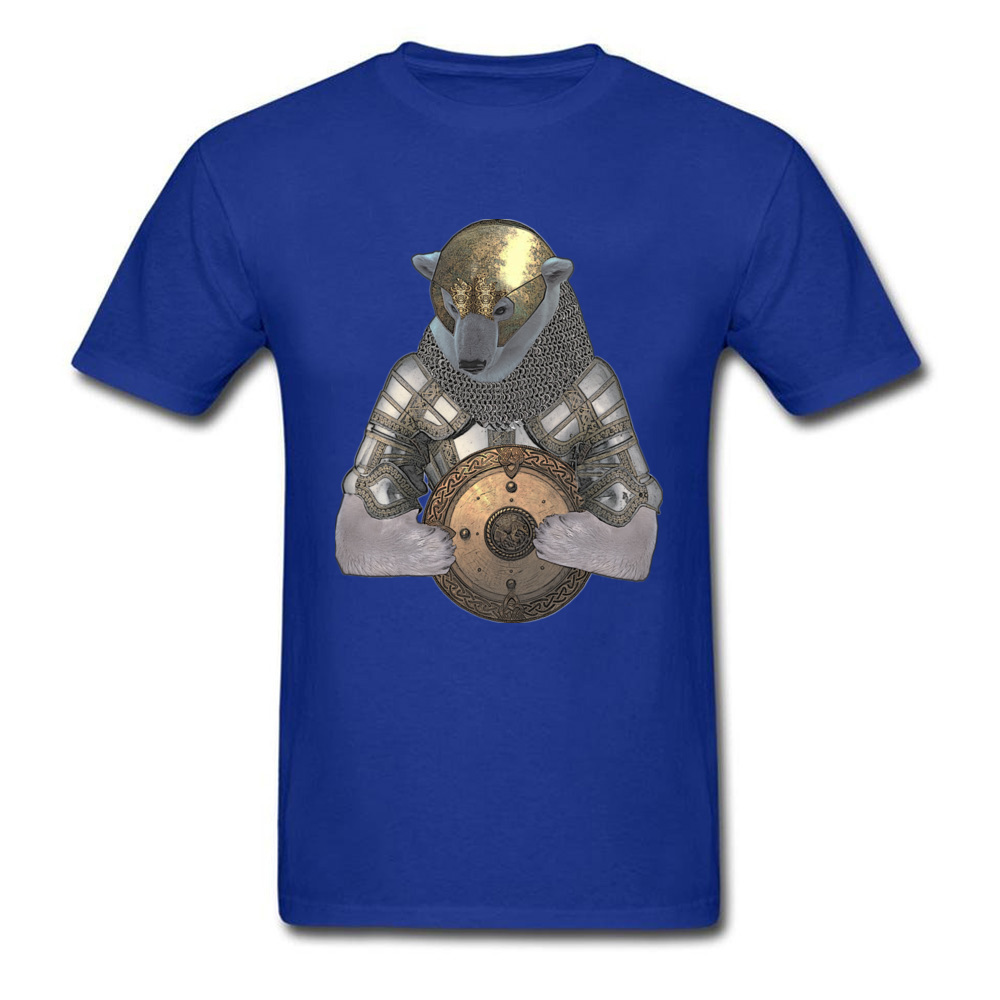 Bear Knight 1 Design Father Day 100% Cotton Round Collar Men Tees Custom Sweatshirts Special Short Sleeve T Shirt
