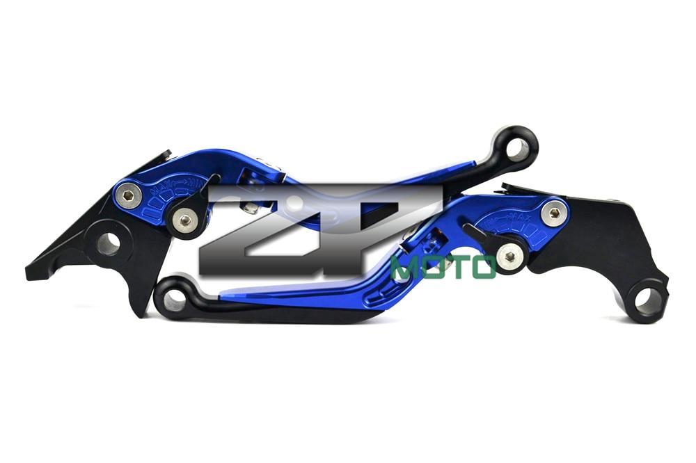 купить Adjustable Folding Extendable Brake Clutch Levers For Yamaha R6s USA VERSION R6s CANADA VERSION FZ1 FAZER 8 Colors недорого