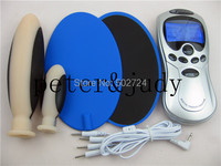 Adult Games DIY Electro Shock Therapy Massager Kit,Electric Shock Anal Plug,Sex Medical Themed Toys ,Body Relax Messager Pads