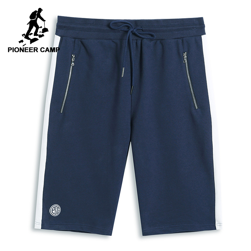 Pioneer Camp New Summer Patchwork Shorts For Men Brand Clothing Zipper Casual Short Pants Men Quality Bermuda Male ADK801123