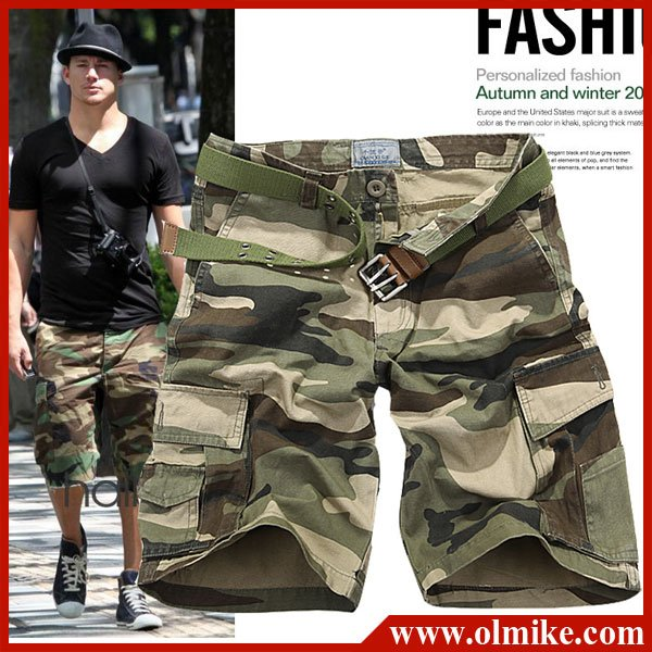 Aliexpress.com : Buy Mens Camo shorts / men's casual pants ...