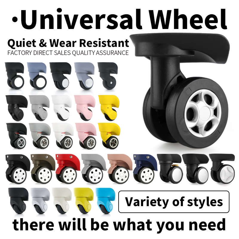 Luggage&Bags Accessories  Suitcase Wheel Replacement  Universal Wheels For Travel Luggage  Accessories  Rolling Luggage Casters