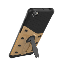 mobile cell phone Sniper Hybrid Robot Armor ShockProof 360 Kickstand Back Soft Case Cover For VIVO Y55 Y55S цена и фото