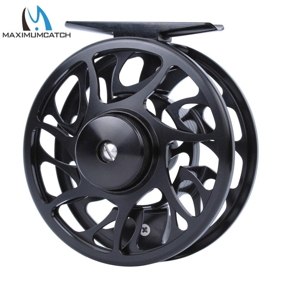 Maximumcatch Fly Fishing Reel 06N 3-8WT CNC Machine Cut Fly Reel Large Arbor Aluminum Fly Reel
