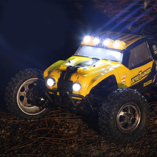 HBX 1:12 Rc Scale Truck 4 Wheel Drive 4WD Desert Truck 2.4G Full – scale remote control system High Speed 40Km/h with car light