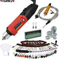 480W Engraver Electric Mini Drill Diy Drill Dremel Style New Electric Drill Engraving Pen Grinder Rotary Tool Mini-Mill Grinder