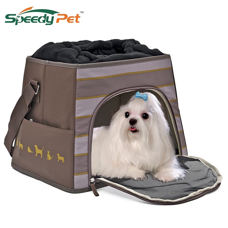 New Trapezoidal Three-in-one Pet Dog Car Safety Carrying House Cat Puppy Fold Outdoor Travel Bagpack With Comfortable Cushion