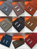 free shipping the new style fashion genuine leather cow leather litchi grain short wallet women