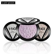 MK Face Highlighter illuminator Palette Corrector Pressed Powder Contouring Makeup Lasting Illuminating Powder Makeup Glow Kit