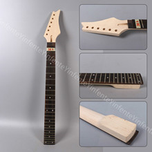1X electric guitar neck 24fret 25.5inch maple bolt on Diy guitar parts#IB2 new electric guitar neck made of maple 120818