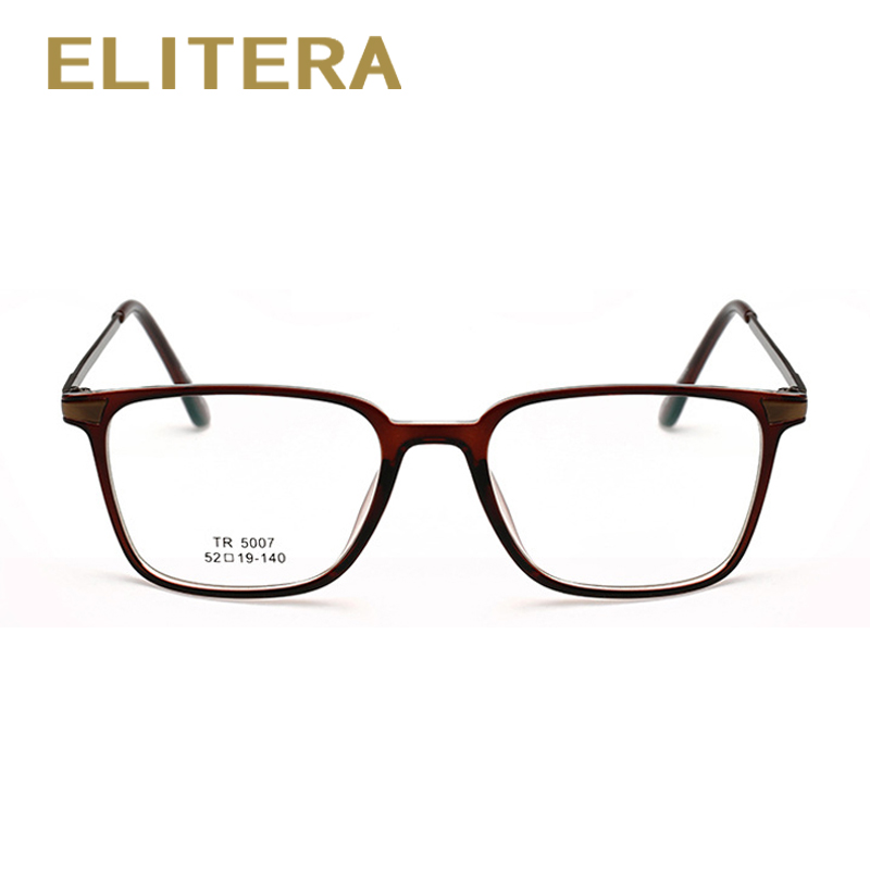 ELITERA 2018 New Fashion Men Women Eyeglasses Frames TR90 Frame High Quality Men Reading Glasses Frames Optical Eyewear Frames
