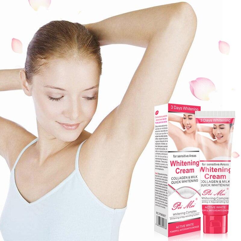 Underarm Whitening Cream Armpit Lightening Cream Body Blench Whitening Skin Moisturizing Repair Cream For Knees Legs Skin (2)