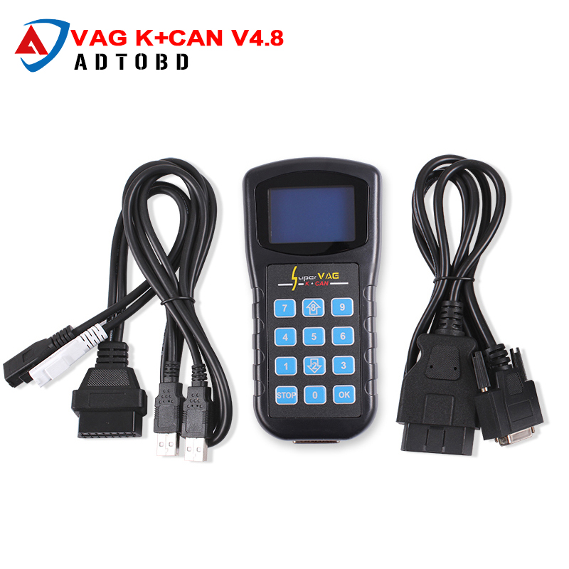 2017 Free Shipping Factory price super vag k can v4.8/super vag k+can v4.8/super vag k can 4.8 for vag cars in stock lowest price 2017 super price maxidiag md801 code reader scanner for obd1 obdii protocol free shipping