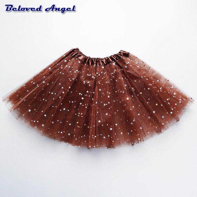 Baby Tutu Skirt Girl Skirts Kids Net Yarn Chiffon Tulle Skirt Children's Performance Clothes Girls Ballet Dancing Party Skirt 2