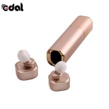 EDAL Stereo Bluetooth V4.1 Mini TWS K2 Twins Wireless Headset Lipstick-Sized In-Ear Earphones Earbuds For Smart Phone