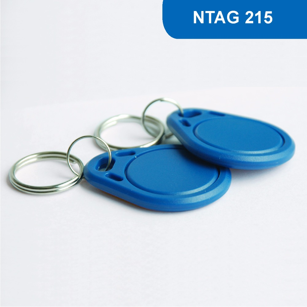 KT03 RFID Access Control key Card NFC KEYFOB Contactless Proximity NFC Tag 13.56MHZ 504BYTES R/W ISO14443A With NTAG 215 Chip waterproof contactless proximity tk4100 chip 125khz abs passive rfid waste bin worm tag for waste management