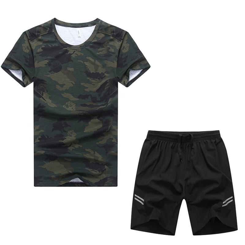 Use For 140kg Summer Sport Set Men Gym Sportsuit Breathable Plus Size Clothing 7XL 8XL 9XL Mens Suit Camouflage Running Sets женский закрытый купальник yqe 4xl 5xl 6xl 7xl 8xl 9xl 10xl 11xl 12xl 2376