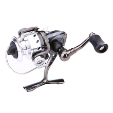 4:3:1 Mini Ice Fishing Reel Portable Spinning Reel Metal Steel Left/right Interchangeable Handed Winter Ice Wheel