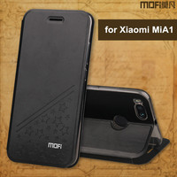 MOFi For Xiaomi MiA1 Case Cover 5 5 Inch Phone Cases Stand Flip PU Leather Case