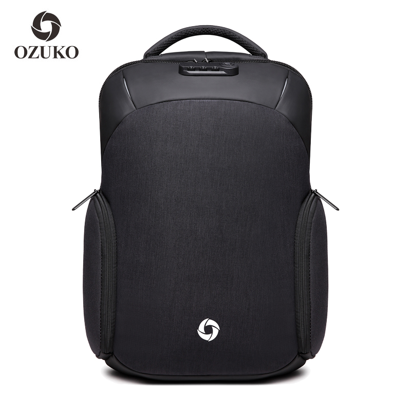 Mens USB Recharging 15 6 inch Laptop Backpack Business Travel Male Women Mochila Waterproof Anti Theft
