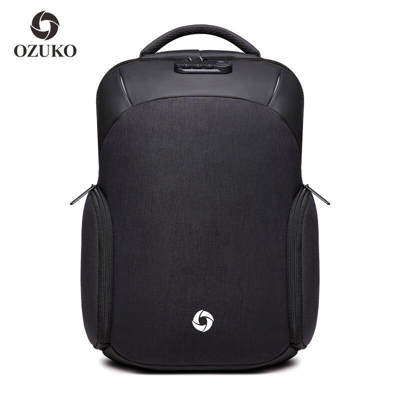Hommes USB recharge 15.6 pouces sac à dos pour ordinateur portable voyage d'affaires hommes femmes Mochila étanche Anti-vol femelle sacs