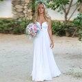 2016 Summer Beach Boho Wedding DressSimple Bohemia Lace Wedding Gowns Cheap Vestido de Novia New Arrival  Bridal Dress