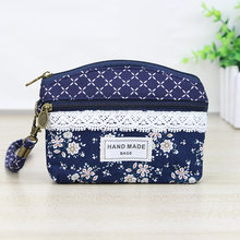 Katuner Women Canvas Coin Purse Kids Children Little Wallet Pouch Female Key Card Money Bag Purses For Girls Monedero K04(China)