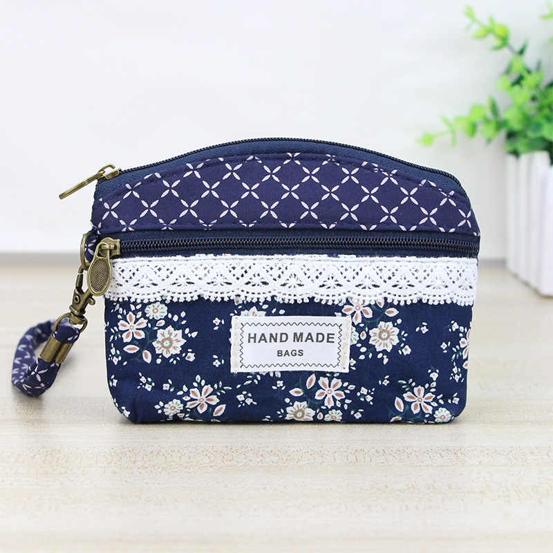 ce35149ef8f1 Katuner Women Canvas Coin Purse Kids Children Little Wallet Pouch Female  Key Card Money Bag Purses