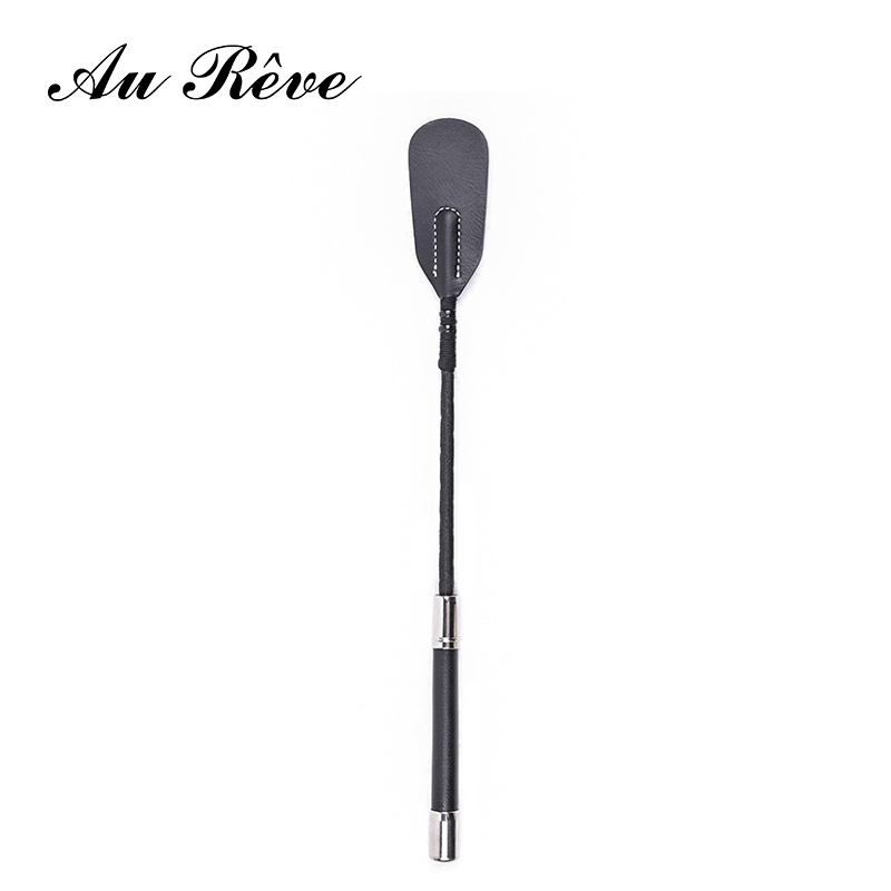 Au Reve Long Riding Crop Fetish Spanking Whip Spanking Paddle SM Sex Toys For Adult Game Sex Products for Flogger Couple