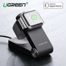 Ugreen мфо сертифицированных магнитный зарядки док держатель складной стенд зарядное устройство для apple watch 42 мм 38 мм зарядное устройство держатель универсальный
