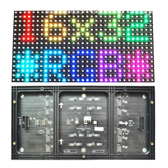 Крытый p10 светодиодный модуль полноцветный rgb 1/8 сканирования 320*160 мм smd 3 в 1 году p10mm rgb светодиодный модуль знак Для Рекламы, СВЕТОДИОДНЫЕ табло