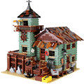 IN STOCK New LEPIN 16050 MOC Series The Old Fishing Store Children Educational Building 21310 Blocks Bricks Toys Model