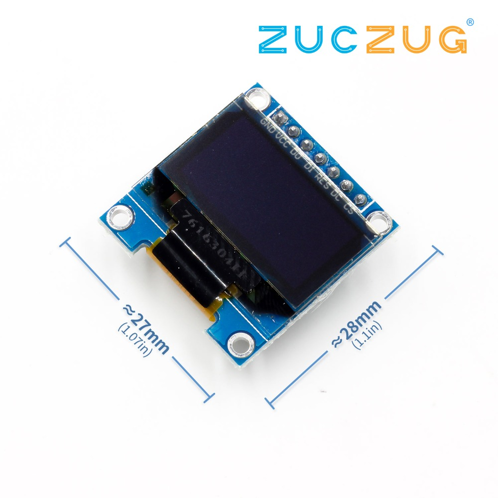 """SPI 0.91/"""" inch 128x32 White OLED LCD Display Module SSD1306 For Arduino STM32 51"""