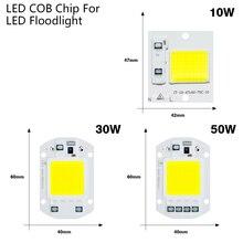 Motion Sensor LED Flood Light Waterproof IP65 10W 30W 50W Reflector Floodlight Lamp AC 220V foco Led Exterior Spot Outdoor Light