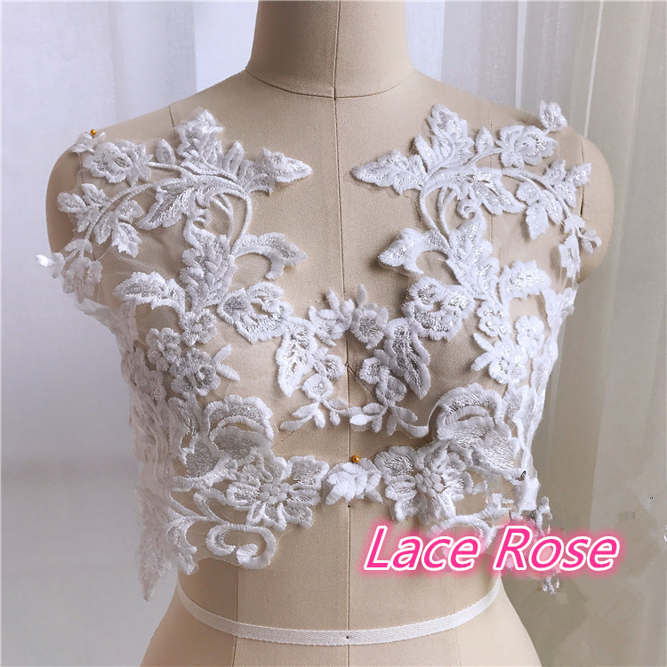 Flower Embroidery Cotton Lique For