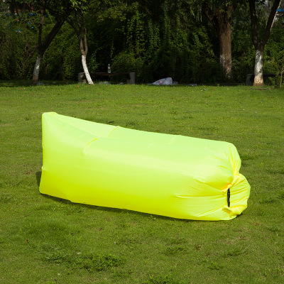 Light Sleeping Bag Waterproof Inflatable Bag Lazy Sofa Camping Sleeping Bags Air Bed Adult Beach Lounge Chair Folding CE2075/10